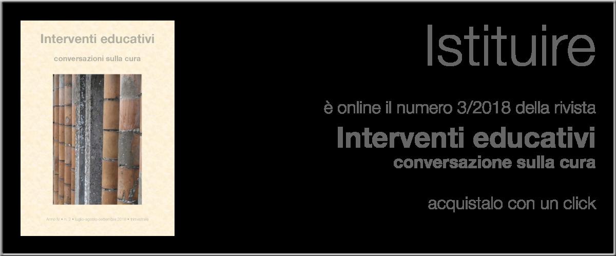 Interventi Educativi 3-2018